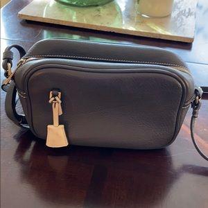 J. Crew Signet Italian leather purse